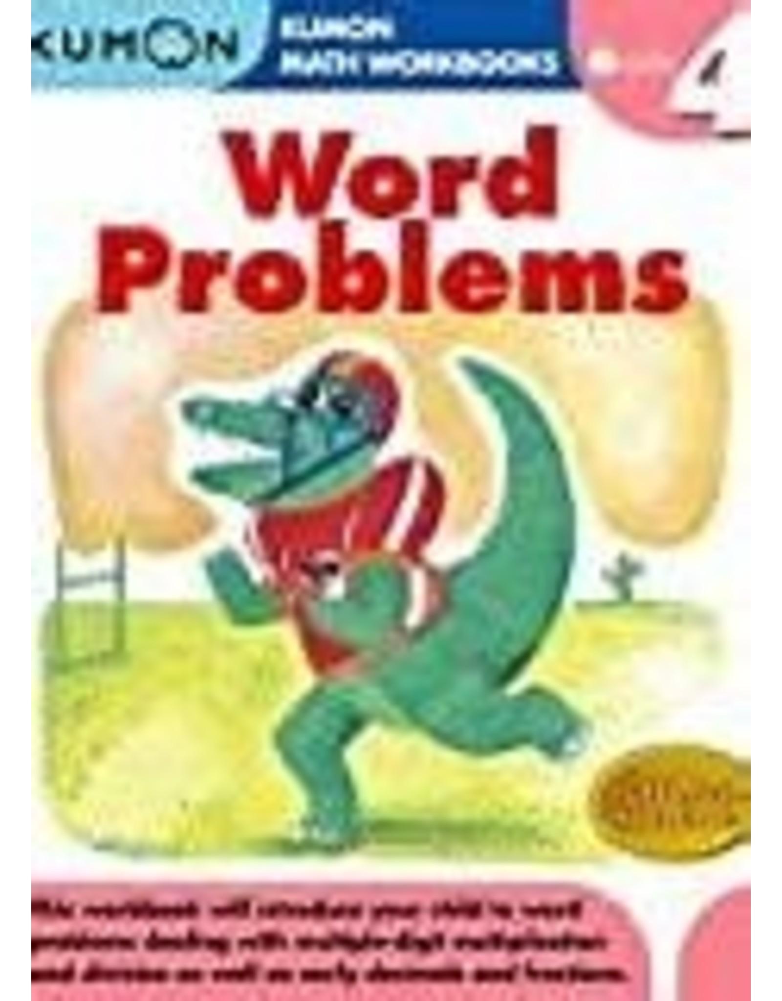 Kumon GRADE 4 WORD PROBLEMS
