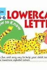 Kumon GROW-TO-KNOW: LOWERCASE LETTERS