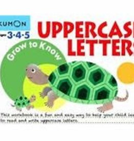 Kumon GROW-TO-KNOW: UPPERCASE LETTERS