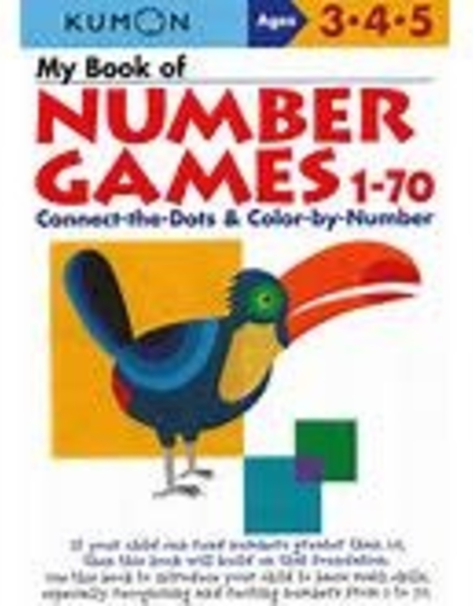 Kumon My Book of Number Games 1-70