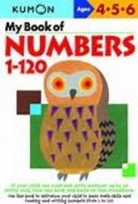 Kumon MY BOOK OF NUMBERS 1-120