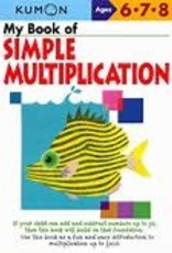 Kumon MY BOOK OF SIMPLE MULTIPLICATION