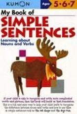 Kumon MY BOOK OF SIMPLE SENTENCES