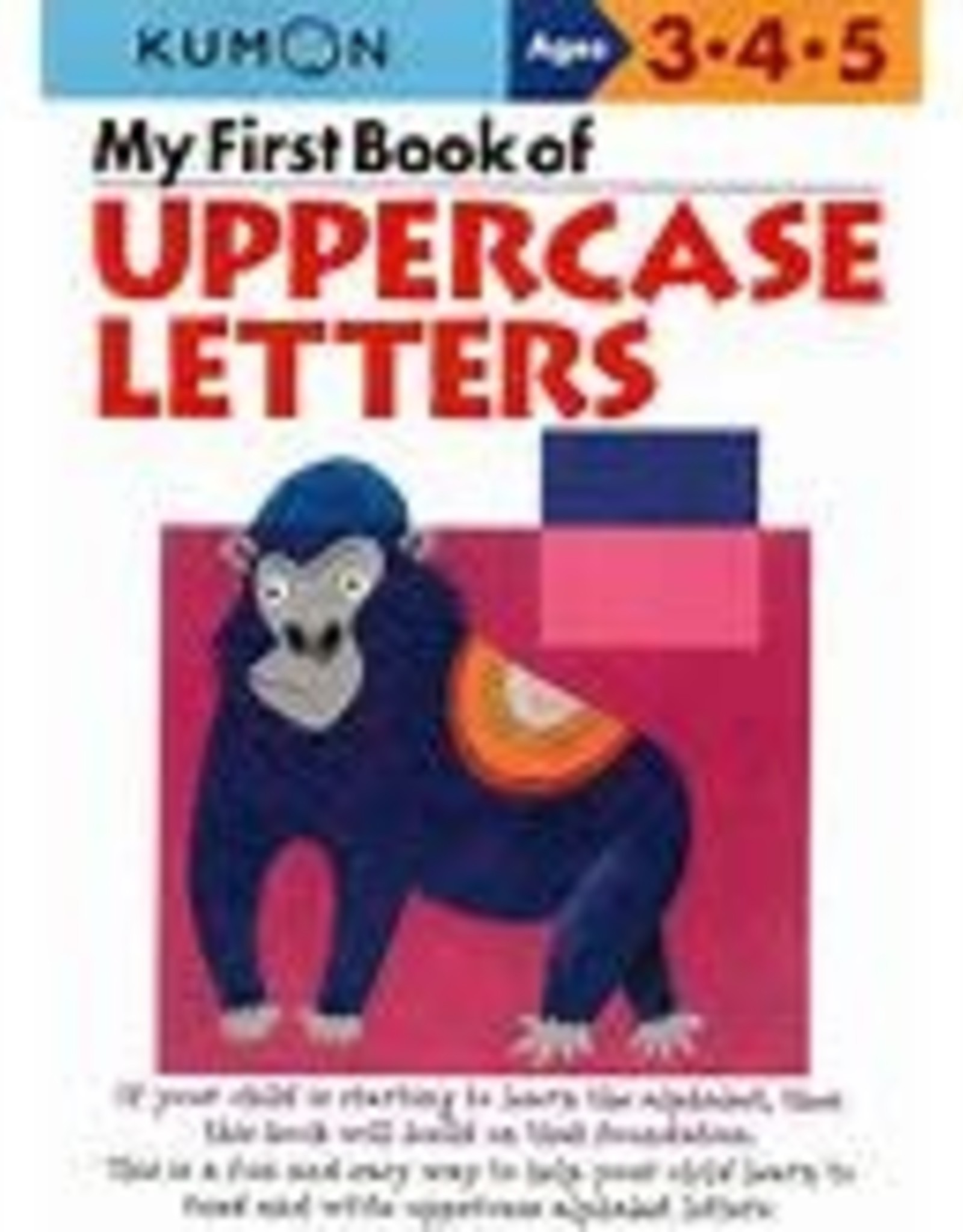 Kumon My First Book of Uppercase Letters