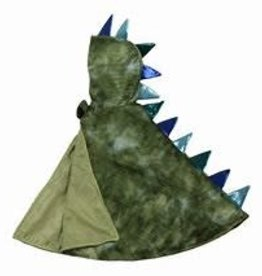 Great Pretenders Dragon Baby Cape, Green/Blue, Size 12-24M