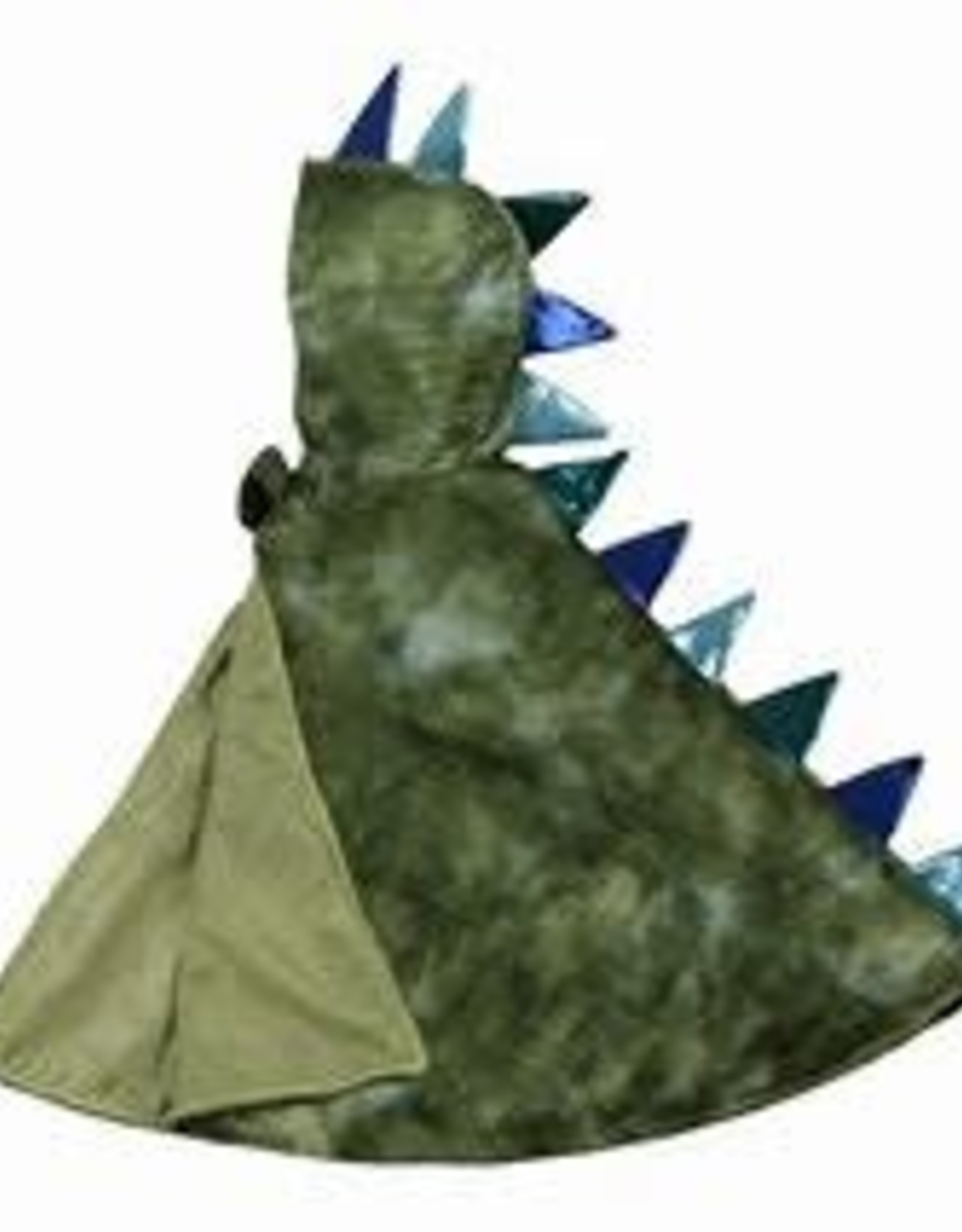 Great Pretenders Dragon Toddler Cape, Green/Blue, Size 2-3T