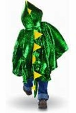 Great Pretenders Dragon Toddler Cape, Green/Metallic, Size 2-3T