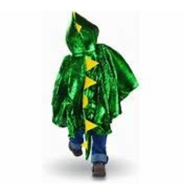Great Pretenders Dragon Toddler Cape, Green/Metallic, Size 2-3T