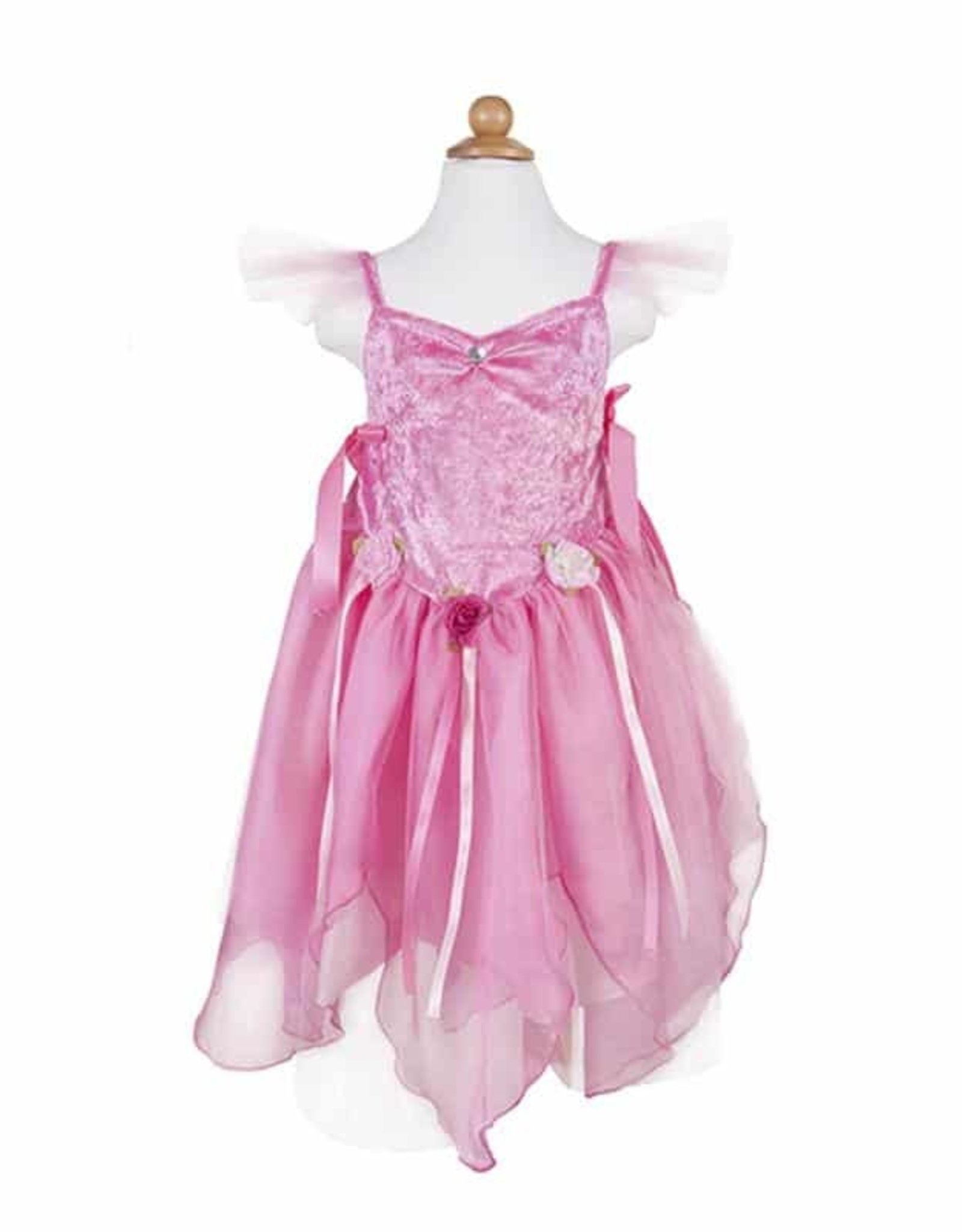 Great Pretenders Forest Fairy Tunic, Dk Pink, Size 3-4