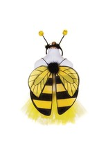 Great Pretenders Glitter Bumblebee Tutu With Wings & HB, Size 4-6