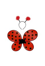 Great Pretenders Ladybug Wings & Headband
