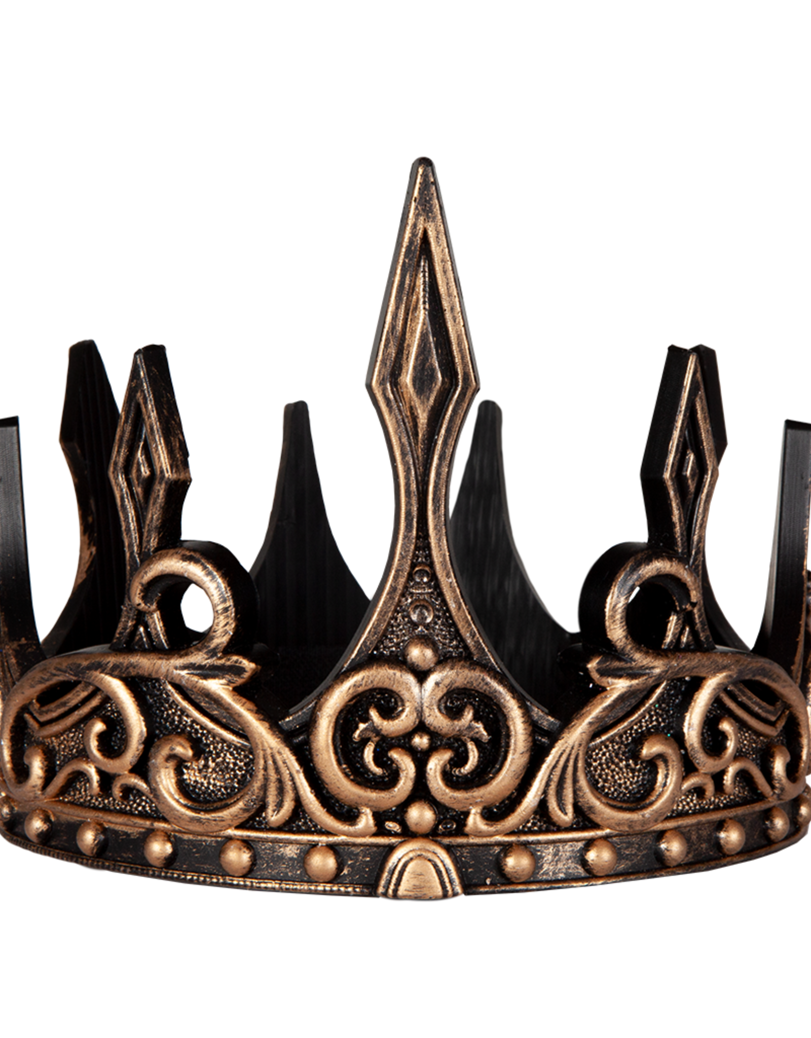 Great Pretenders Medieval Crown, Gold/Black
