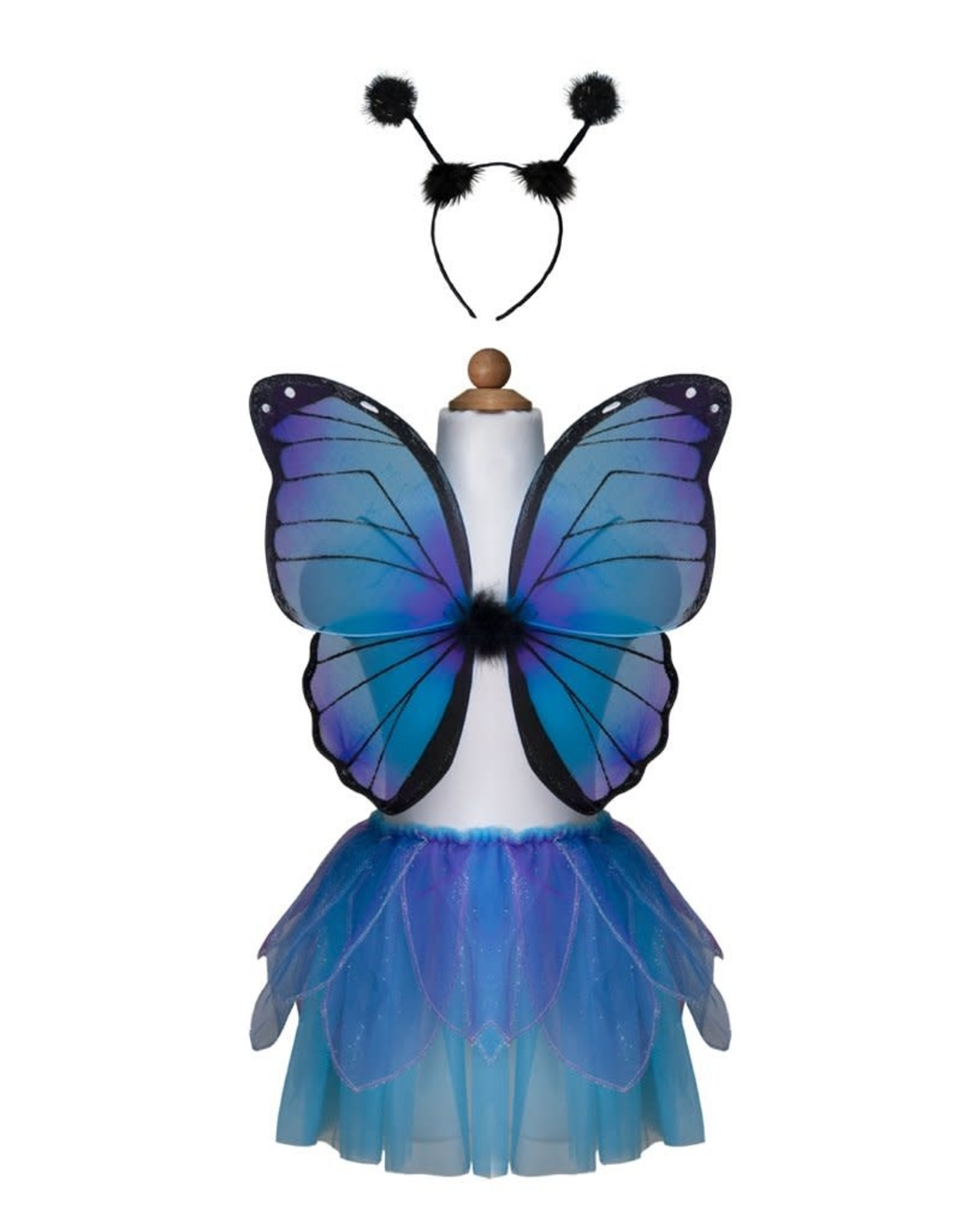Great Pretenders Midnight Butterfly Tutu With Wings & HB, Size 4-6