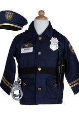 Great Pretenders Police Officer Set Includes 5 Accessories, Size 5-6