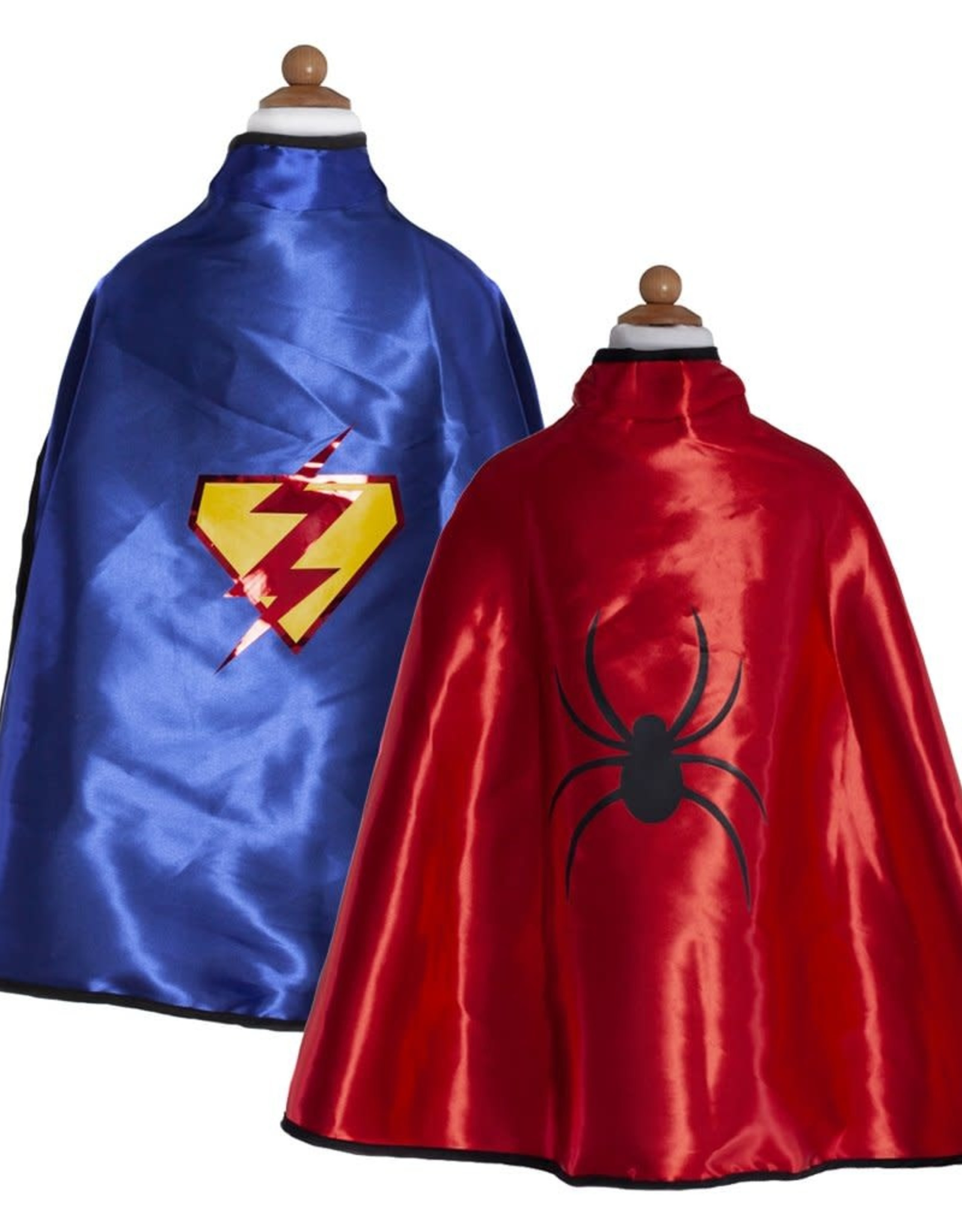 Great Pretenders Reversible Superhero/Bat Tunic With Cape & Mask, Size 4-7