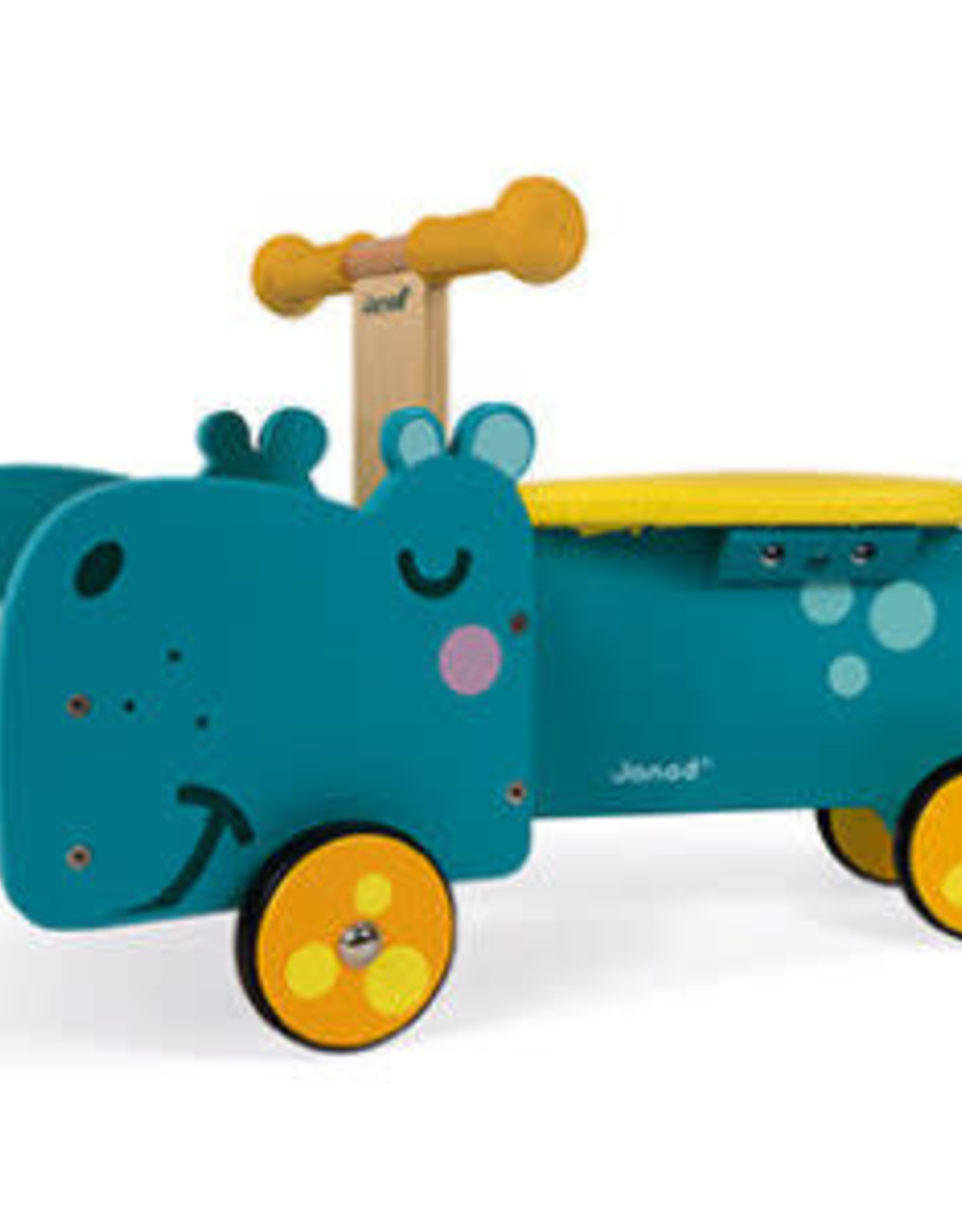 JURA Toys HIPPO RIDE-ON