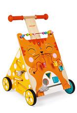 JURA Toys MULTI-ACTIVITIES CAT BABY WALKER