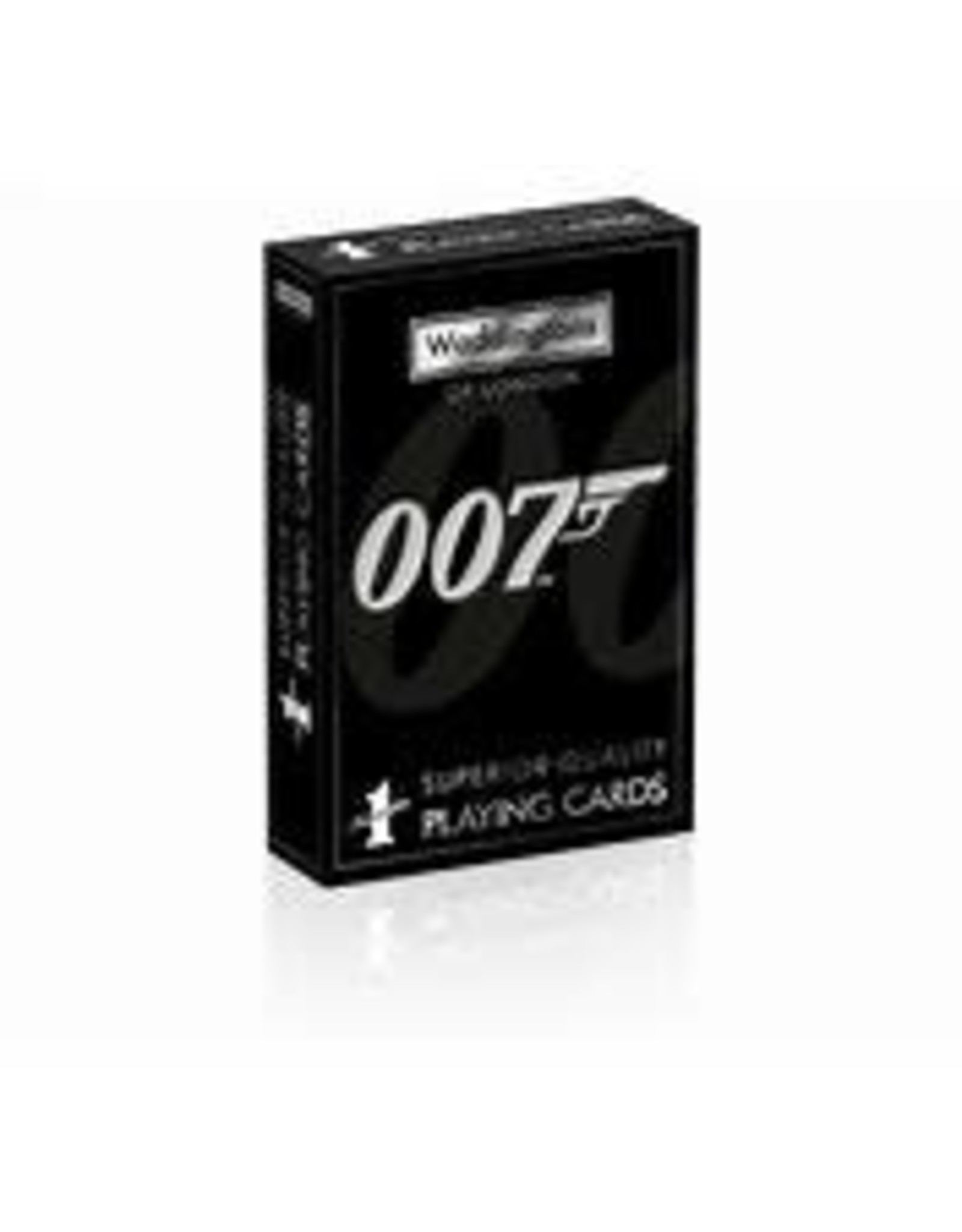 Top Trumps 007 Playing Cards