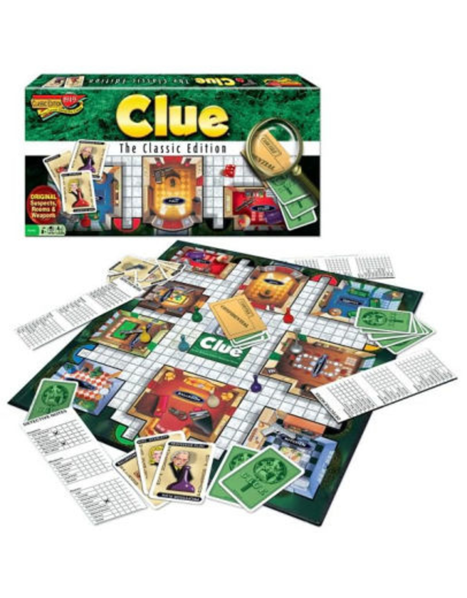 Winning Moves Clue The Classic Edition