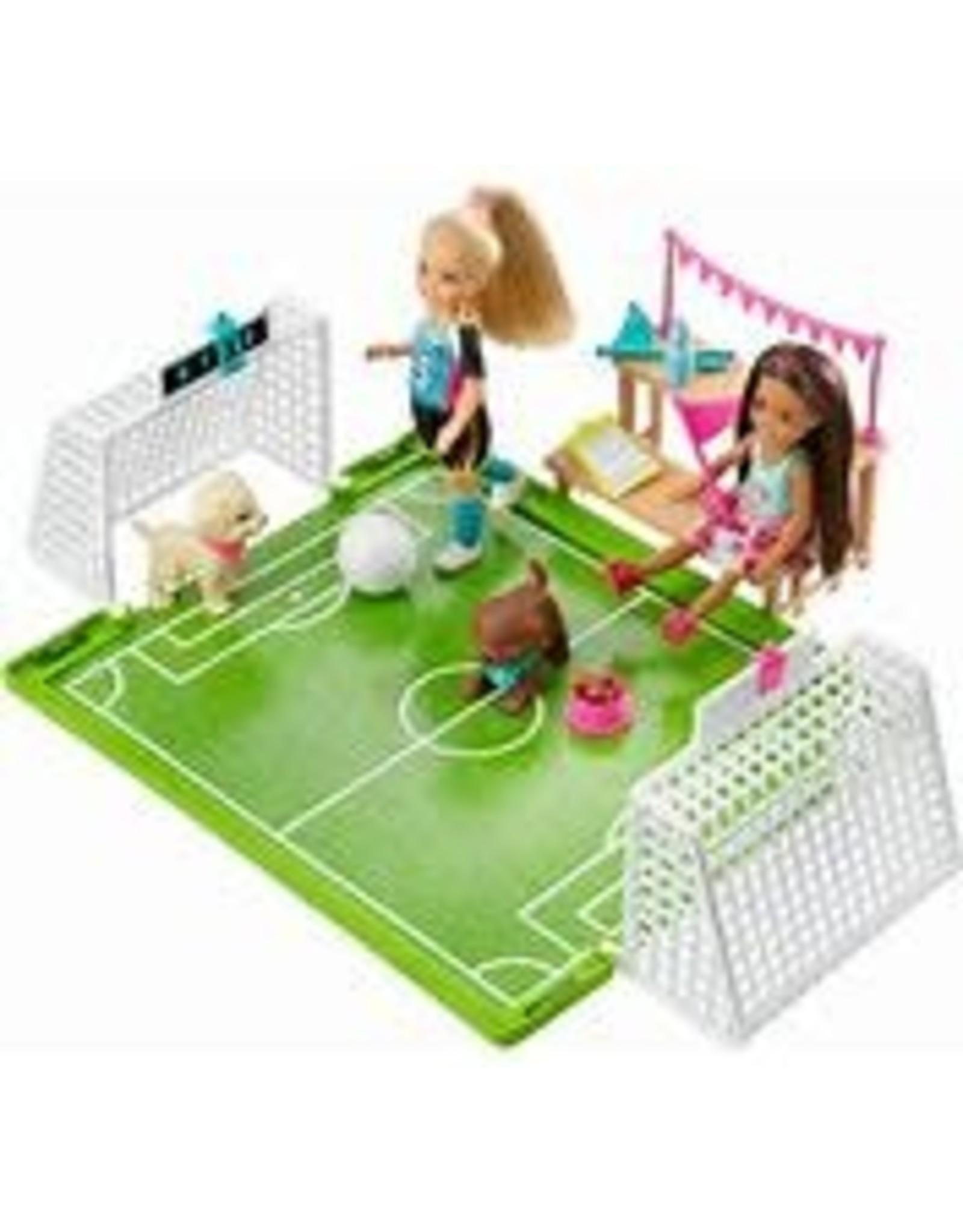 Barbie Barbie Chelsea Soccer Playset