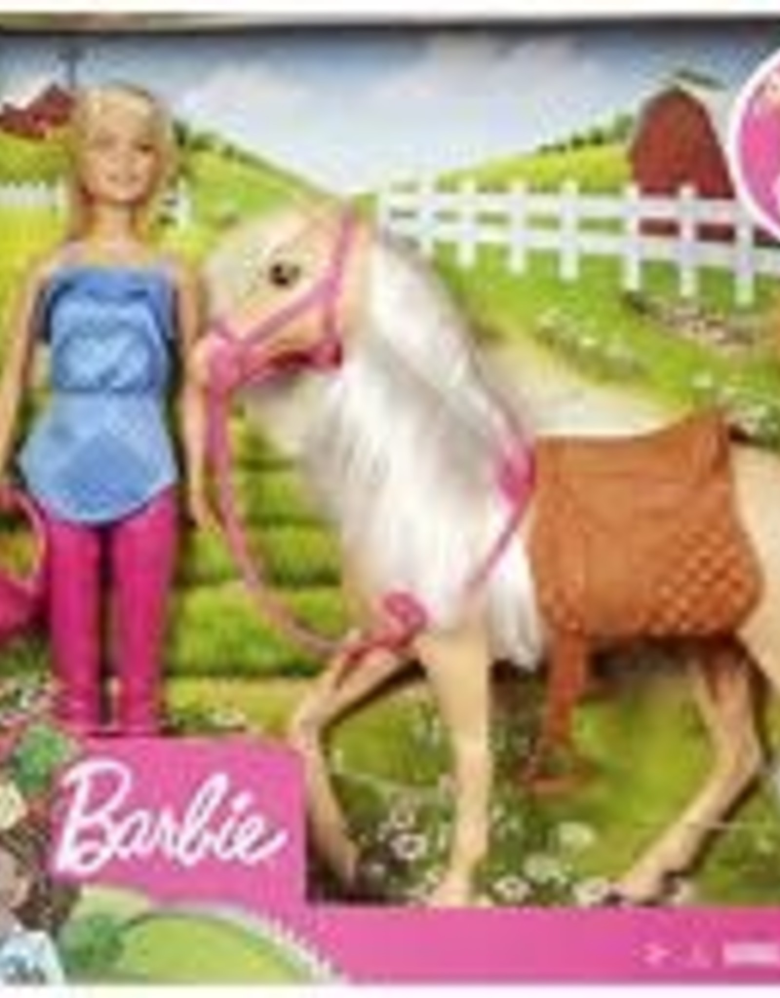 Barbie Barbie Doll & Horse