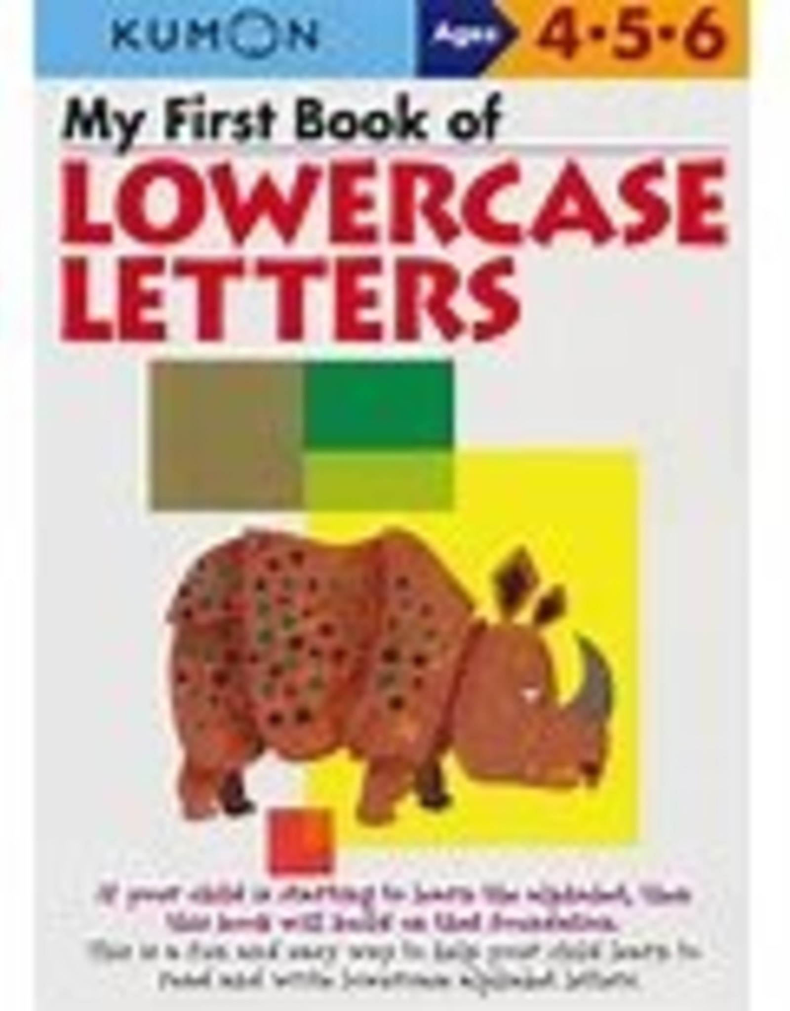 Kumon My First Book of Lowercase Letters