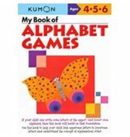 Kumon My Book of Alphabet Games