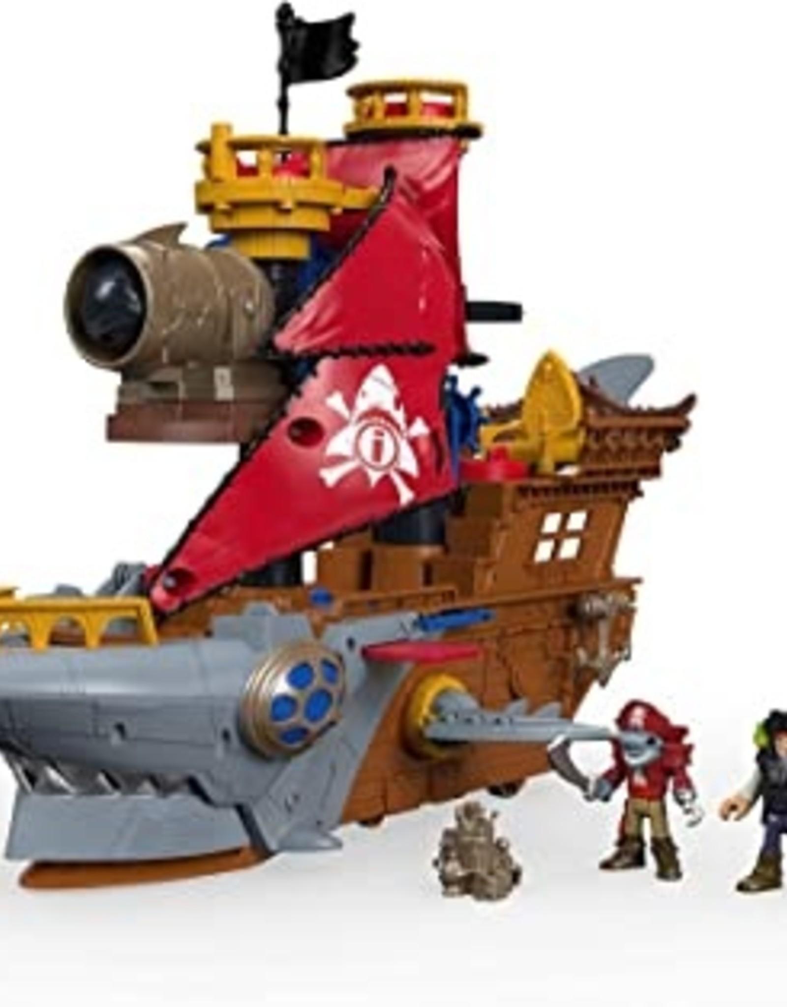 Fisher Price Pirate Bite Shark Ship