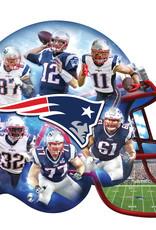 New England Patriots 500pc Helmet Shaped Puzzle
