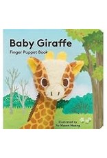 Continuum Baby Giraffe finger puppet book