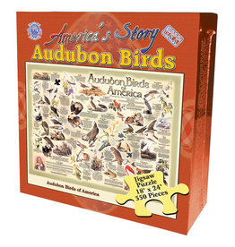 Channel Craft BOXED PUZZLE - AUDUBON BIRDS
