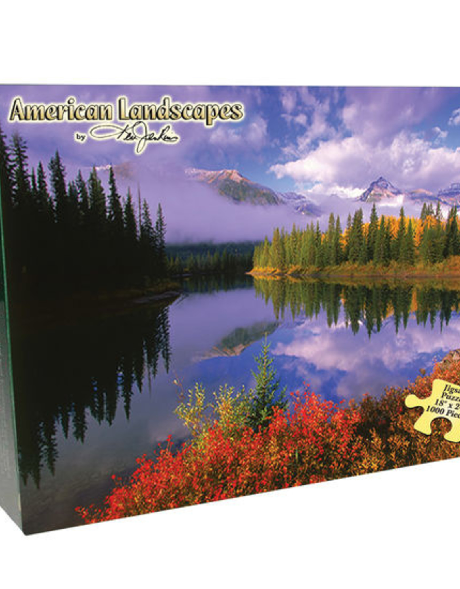 Channel Craft BOXED PUZZLE - THE ROCKIES (1000 PC.)