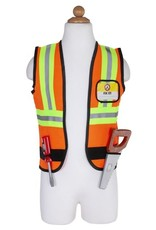 Great Pretenders Construction Worker Set Incl: 7 Accessories, Size 5-6