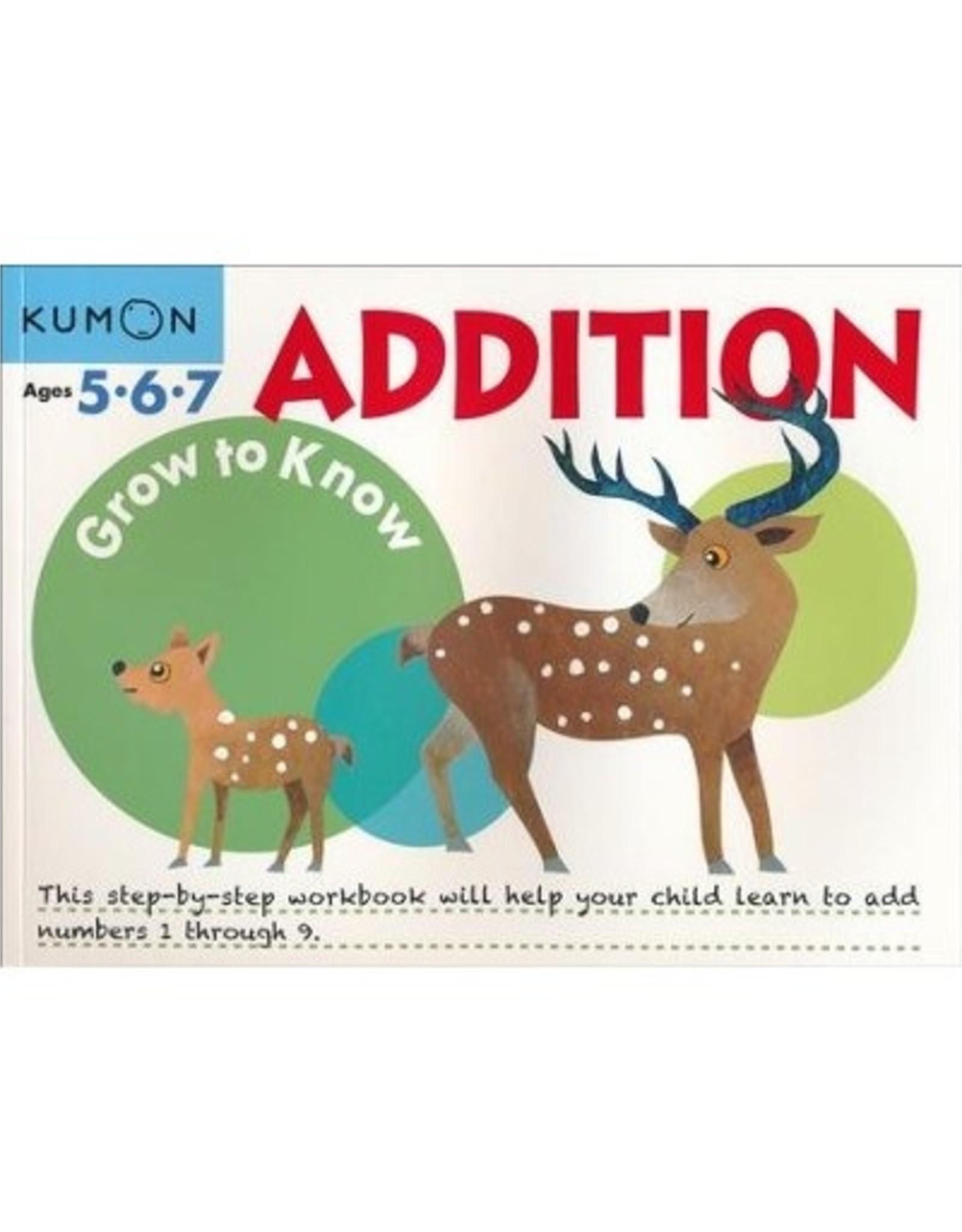Kumon GROW-TO-KNOW ADDITION