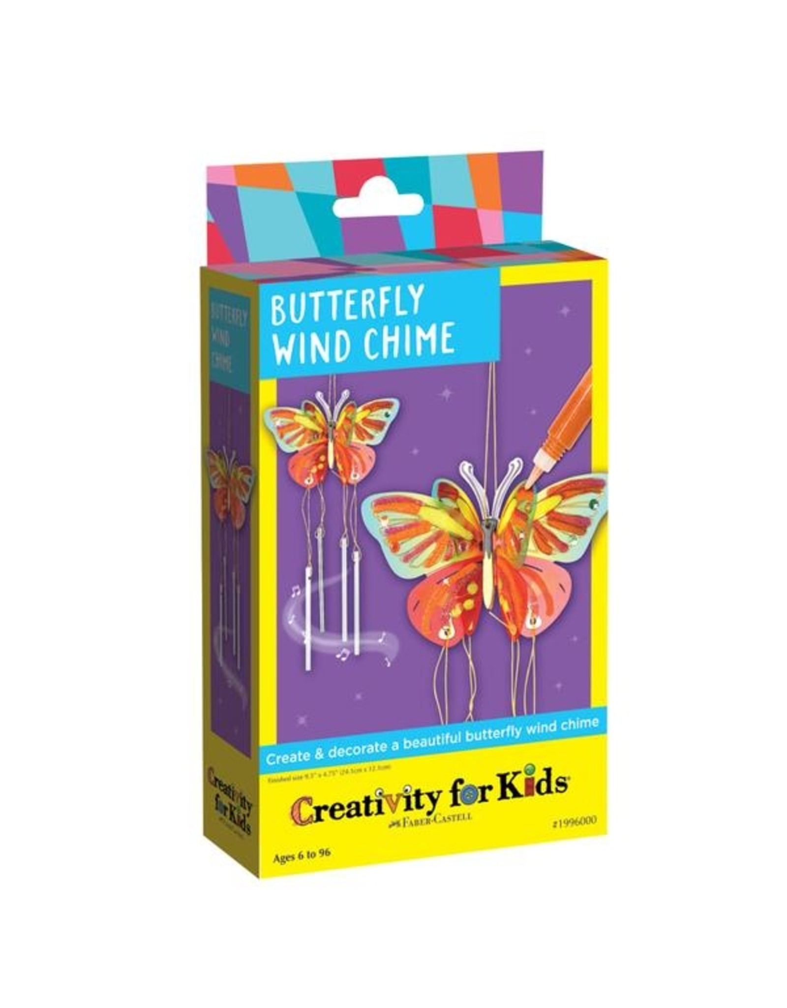 Creativity for Kids Butterfly Wind Chime
