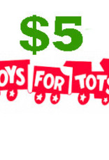 $5 Toys for Tots Donation