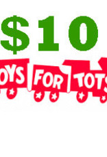 $10 Toys for Tots Donation