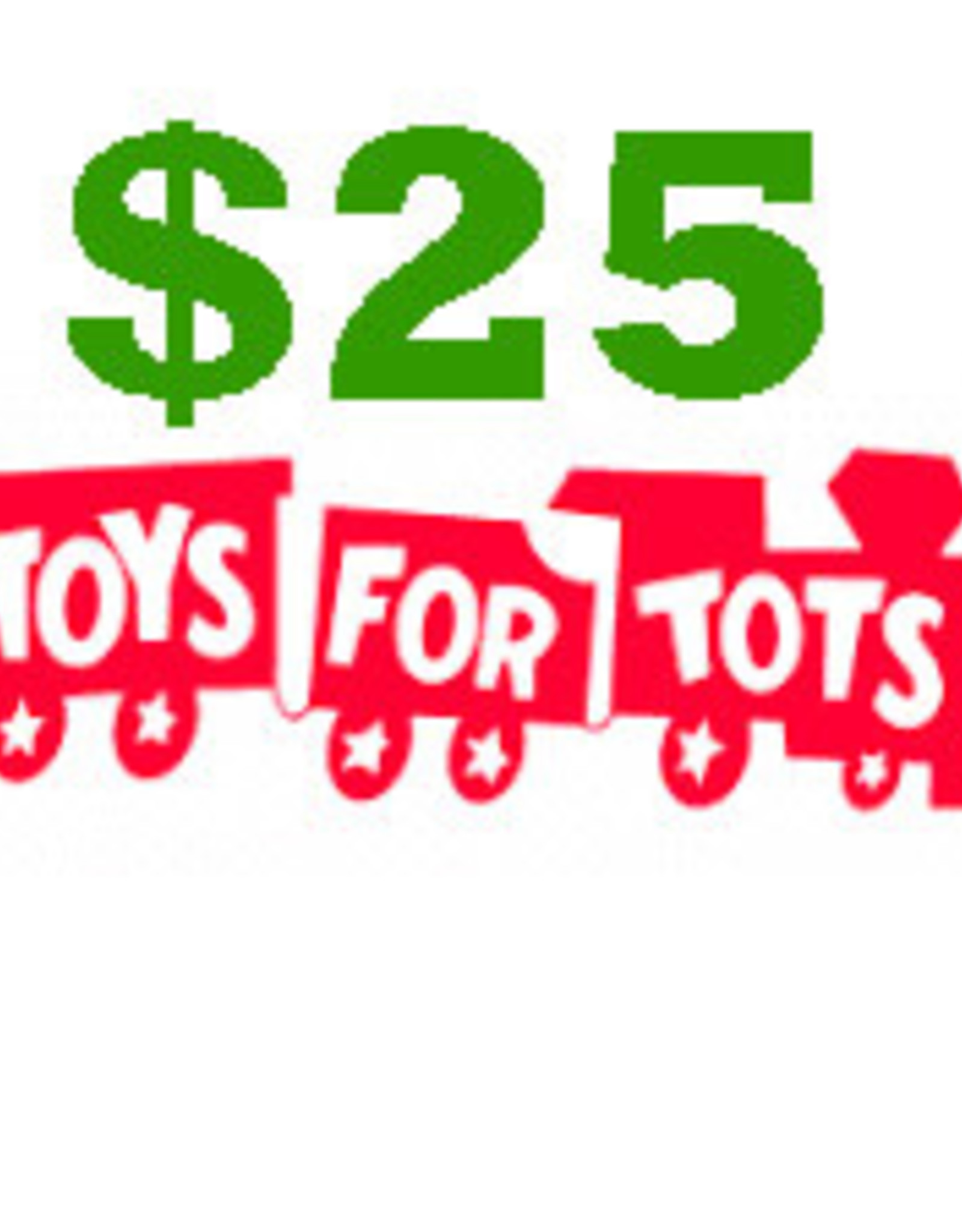 $25 Toys for Tots Donation