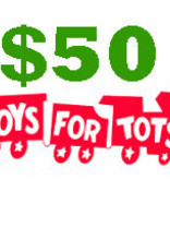 $50 Toys for Tots Donation