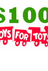 $100 Toys for Tots Donation
