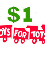$1 Toys for Tots Donation