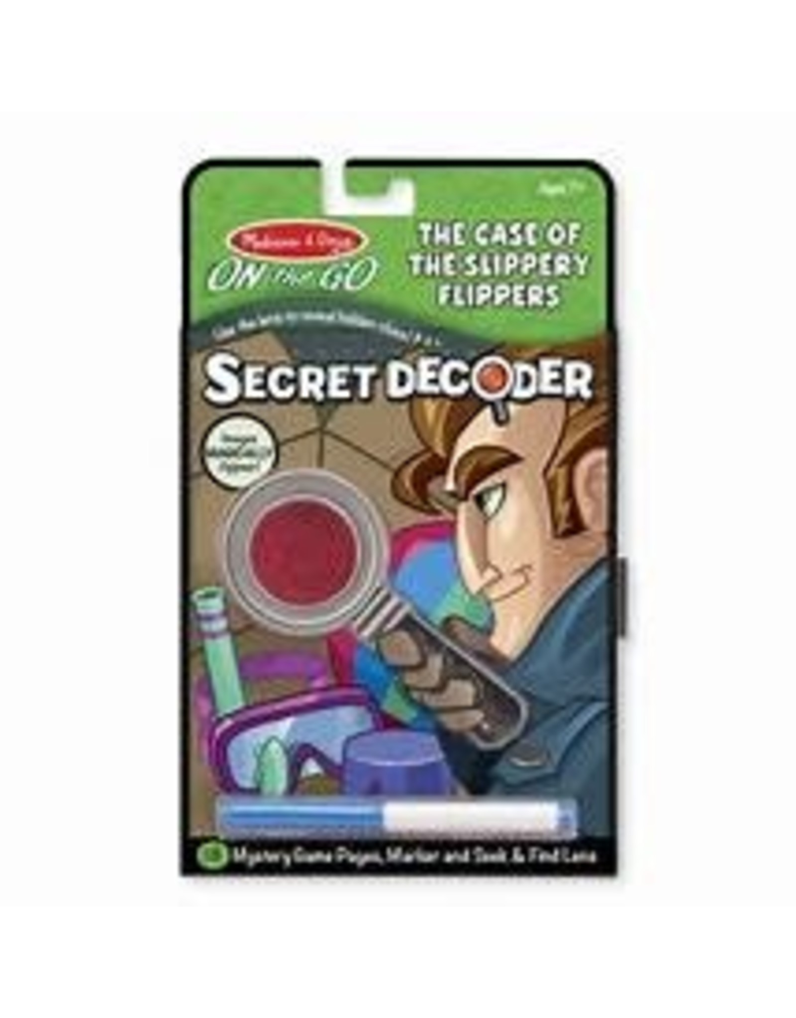 Melissa & Doug Secret Decoder: Case of the Slippery Flippers