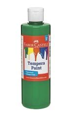 Faber-Castell Green Tempera Paint (8 oz bottles)