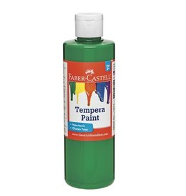 Faber-Castell Green Tempera Paint (8 oz bottles)
