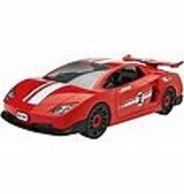 Revell Race Car Red Jr Kit