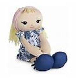 Gund Toddler Doll in Blue Dress