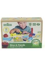 Green Toys Elmo & Friends Dough Activity Set