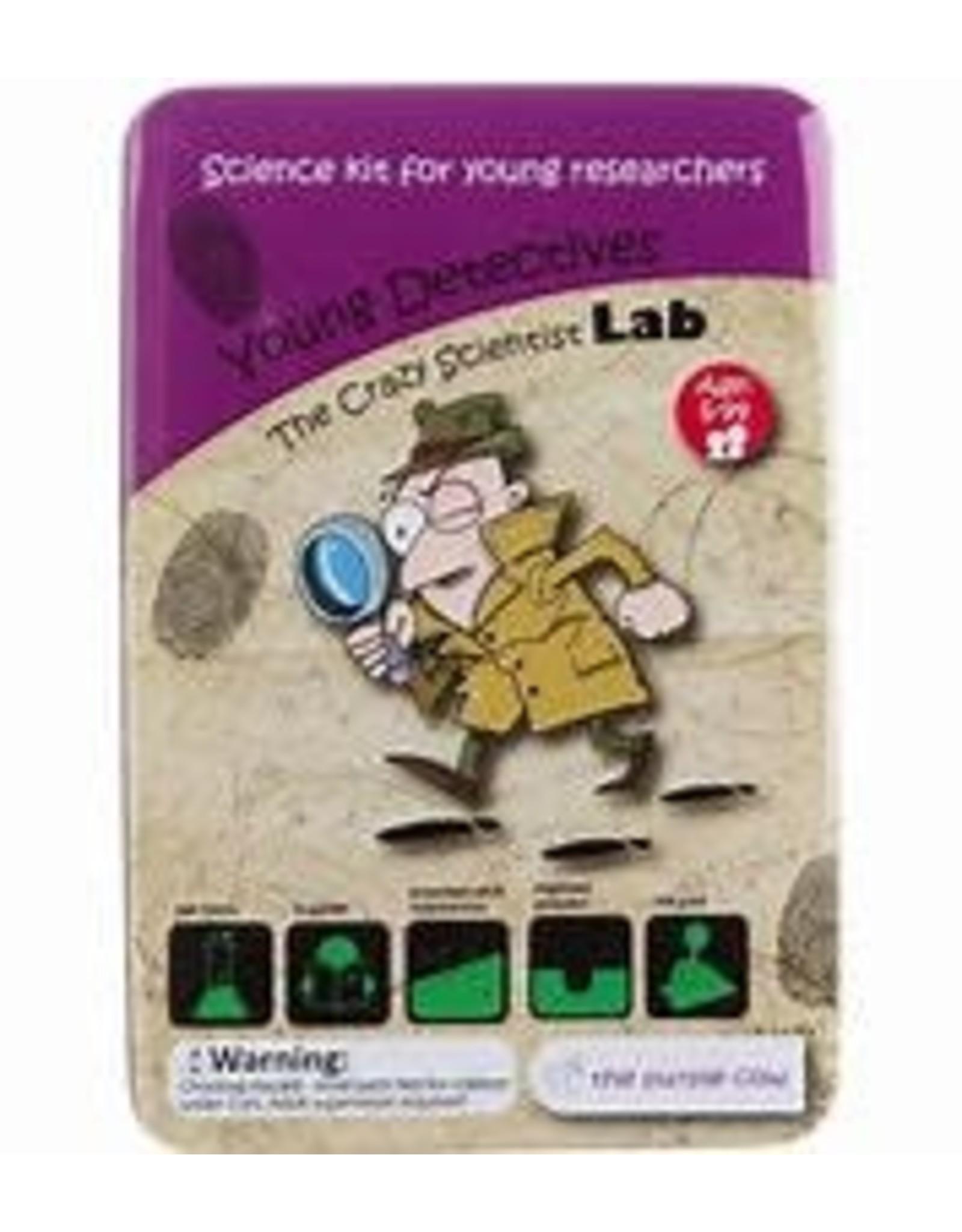 Purple Cow Crazy Scientist LAB Young Detectives