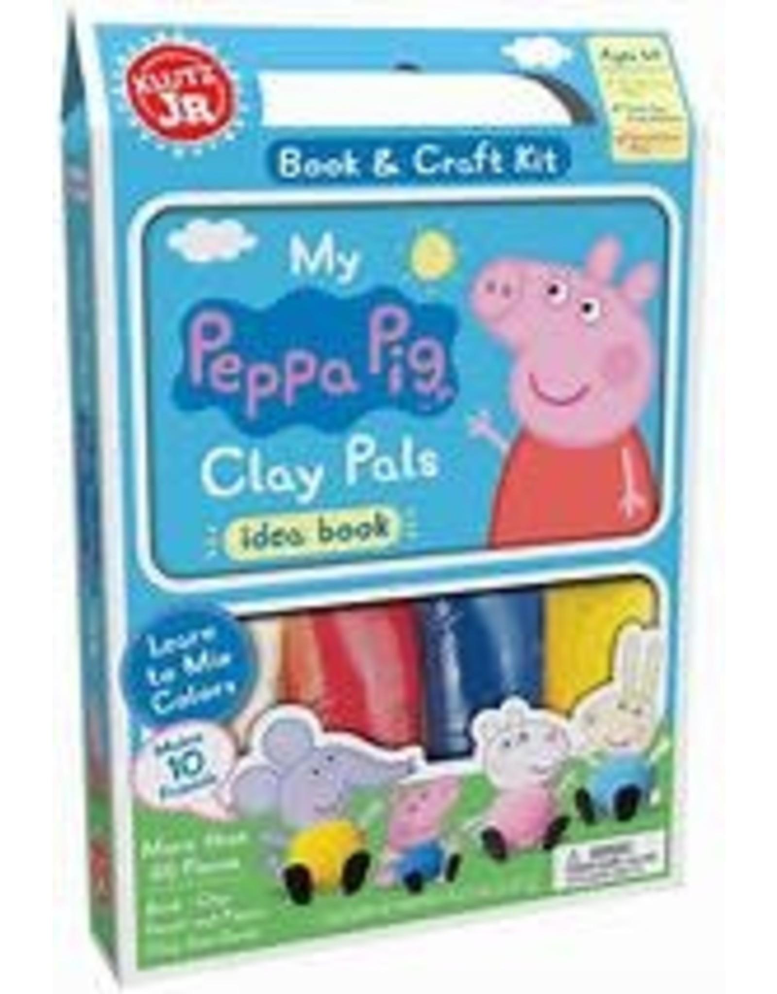 KLUTZ KLUTZ JR. MY PEPPA PIG CLAY PALS