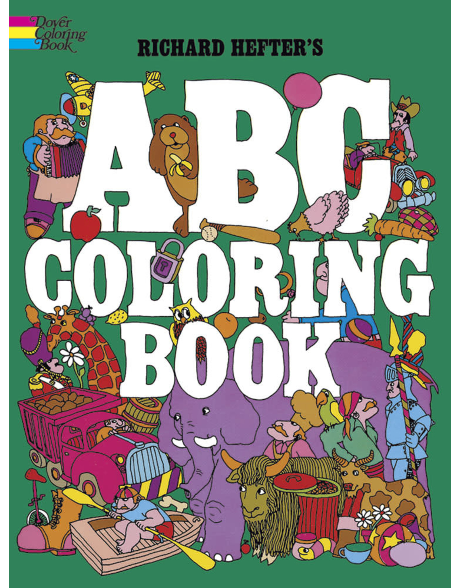 Dover ABC Coloring Book